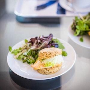 Paprika Chicken Sandwich with Toasted Italian Grain-Free Bread