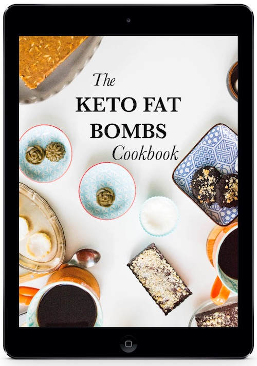Keto Fat Bombs Cookbook New - ipad Cover