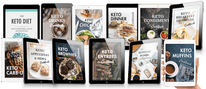The Complete Keto Recipes Collection - all books