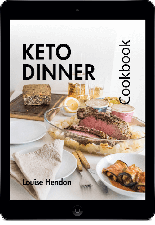 Keto dinner cookbook