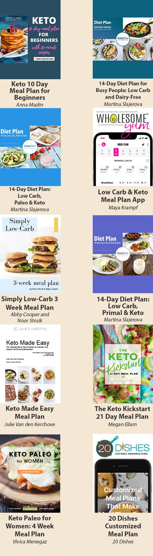 23 Weeks of Keto Meal Plans