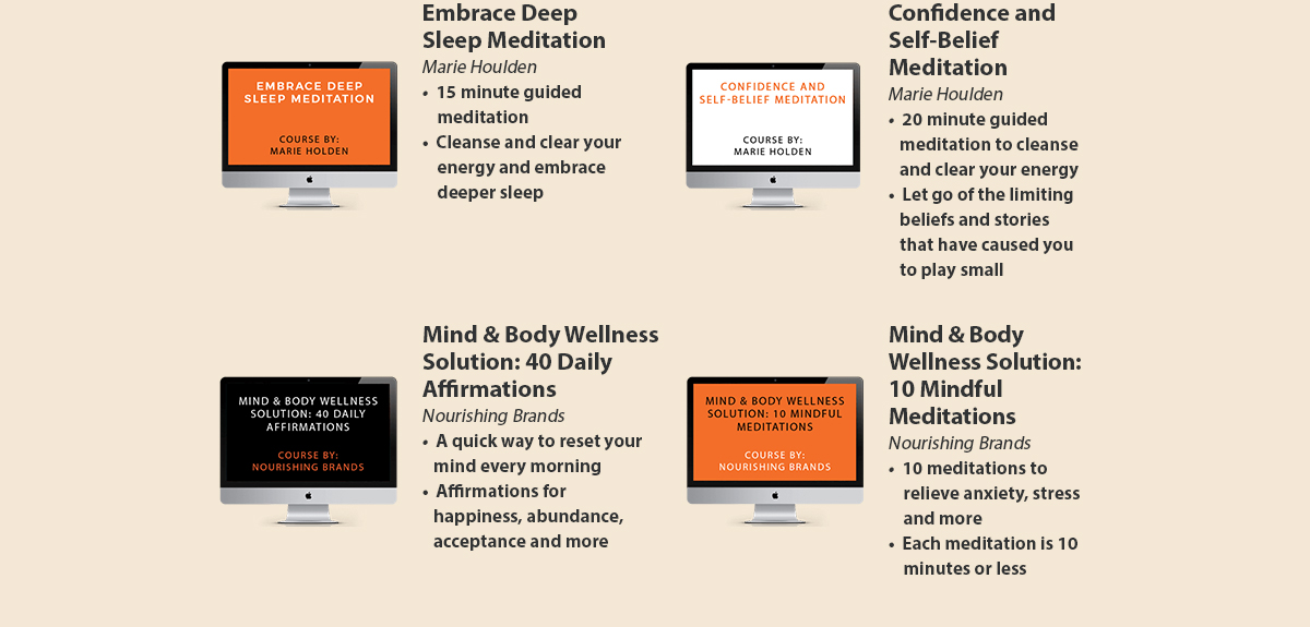 Sleep & Mindset Courses