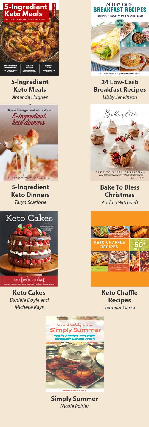 Fast & Easy Keto Cookbooks