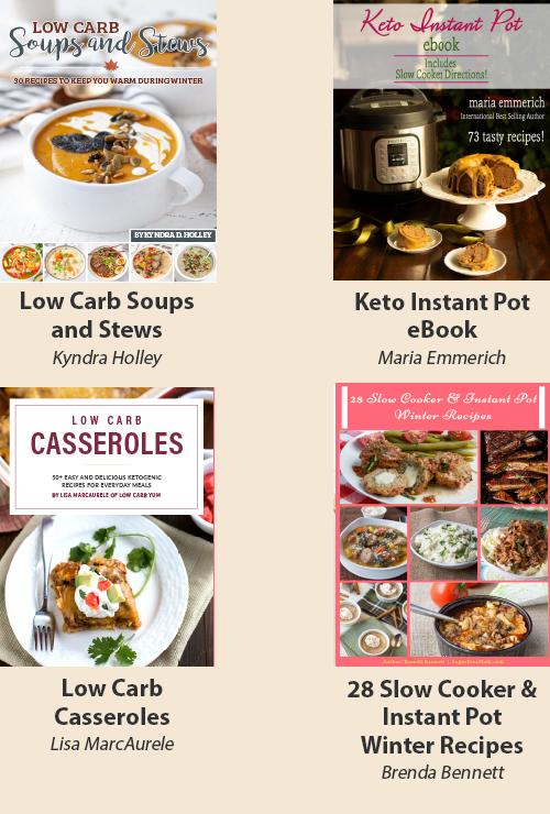 Keto Batch Cooking Cookbooks