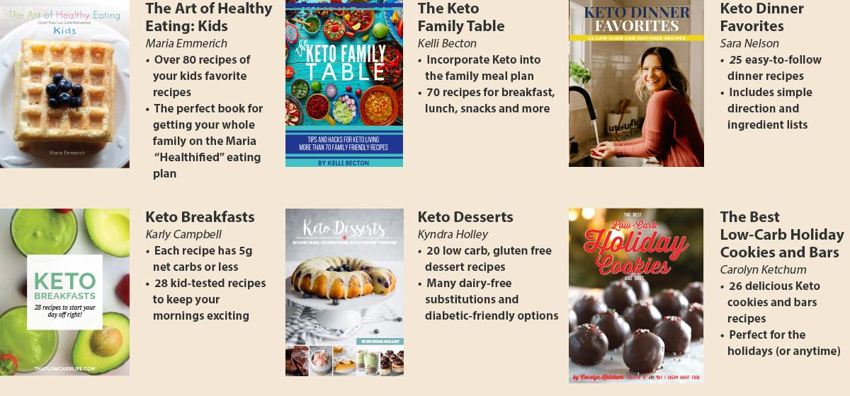 Keto Family Favorites Cookbooks